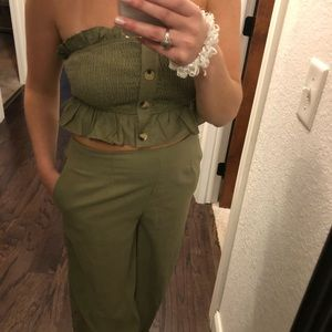 Linen two piece